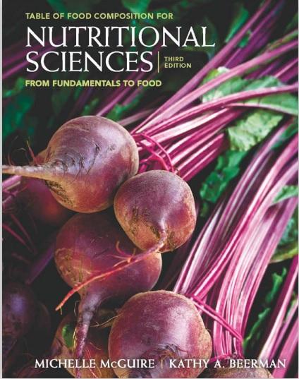 标题:从基础到营养科学食品第三版  出版社: THIRD  作者:Michelle Mcguire & Kathy A