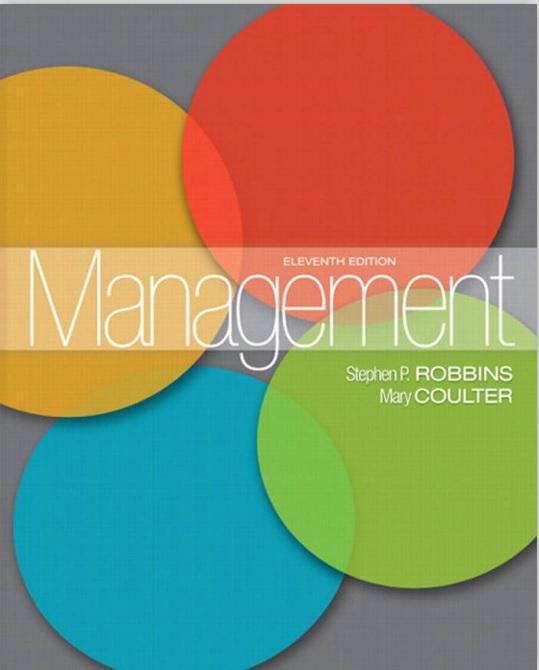 标题:管理学原名: Management  出版社:(美)斯蒂芬.P.罗宾斯  作者:(美)斯蒂芬.P.罗宾斯